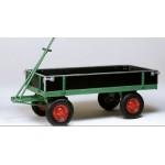 Handpritschenwagen 2000x1000 mm, Luftg., mit Bordwänden