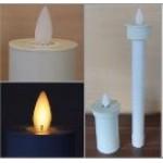 Elektronische Kerzeneinsatz mit beweglicher Flamme
