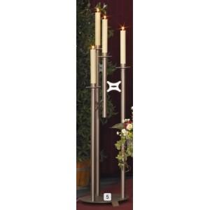 Leuchter, 4-lichtig, links, Höhe 120 cm