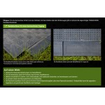 Randleiste für Bodenplatte aus PE-Regranulat