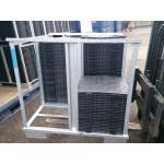 Systembox für Bodenplatten aus PE-Regranulat