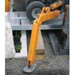 Überfahrrampen für Friedhofsbagger, ohne Rand 550 mm Fahrflächenbreite